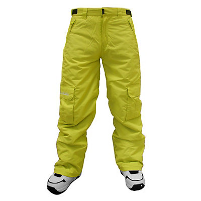 Billabong Fringe Kids Snowboard Pants, Golf Green, viewer