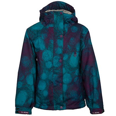 Billabong Tiana Girls Snowboard Jacket, Black, viewer