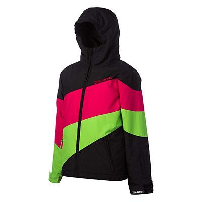 Billabong Pyneo Girls Snowboard Jacket, Black, viewer