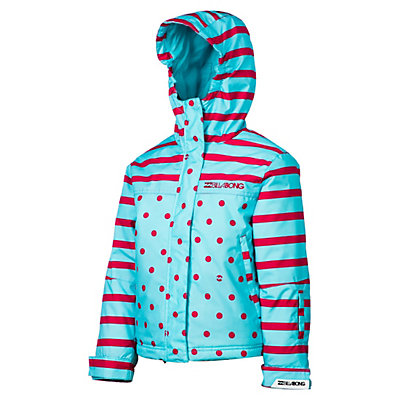Billabong Tzuega Girls Snowboard Jacket, Blue Radiance, viewer