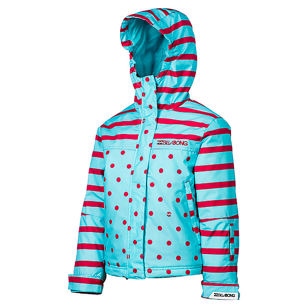 Billabong Tzuega Girls Snowboard Jacket, Blue Radiance, 600