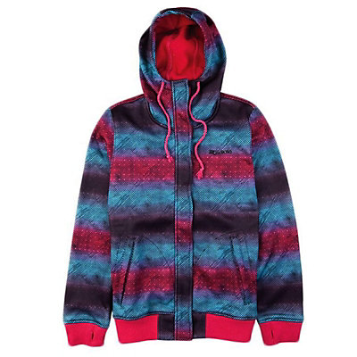 Billabong Crush Zip Womens Hoodie, Faded, viewer