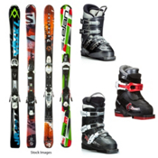 Boys Junior Lease Program Kids Ski Package, , medium
