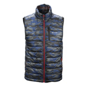 Gyde Calor Filled Mens Vest, Tonal Camo, medium