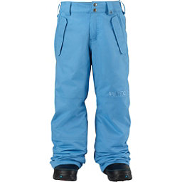 Burton Parkway Kids Snowboard Pants, Blue Steel, 256
