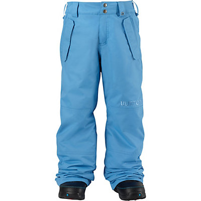 Burton Parkway Kids Snowboard Pants, Blue Steel, viewer