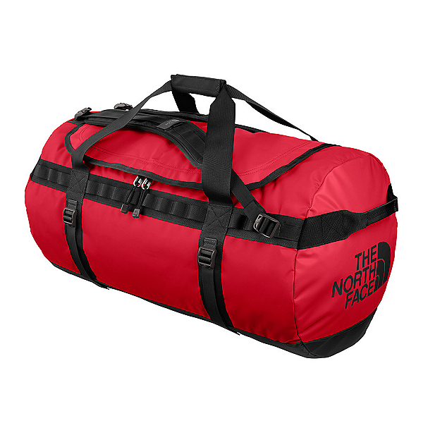 The North Face Base Camp Large Duffel Bag 2017, TNF Red-TNF Black, 600