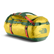 The North Face Base Camp Large Duffel Bag 2017, Antique Moss Green-Poinciana Orange, medium
