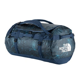 The North Face Base Camp Duffel - Large Bag, Cosmic Blue Blueprint Print, 256