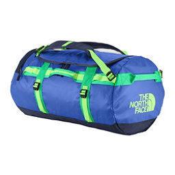 The North Face Base Camp Duffel - Medium Bag, Honor Blue-Blarney Green, 256