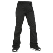 Volcom Transfer Womens Snowboard Pants, Black, medium