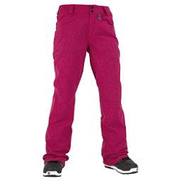 Volcom Transfer Womens Snowboard Pants, Maroon, 256