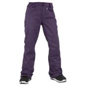 Volcom Transfer Womens Snowboard Pants, Purple, medium