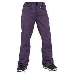 Volcom Transfer Womens Snowboard Pants, Purple, 256