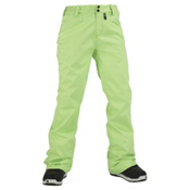 Volcom Transfer Womens Snowboard Pants, Lime Ice, medium