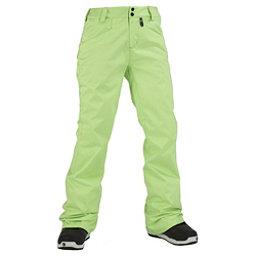 Volcom Transfer Womens Snowboard Pants, Lime Ice, 256