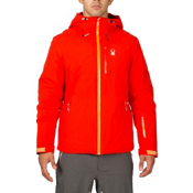Spyder Pryme Mens Insulated Ski Jacket (Previous Season), Volcano-Bryte Orange, medium