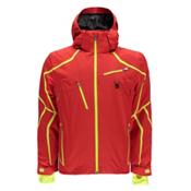 Spyder Esper Mens Insulated Ski Jacket, Volcano-Bryte Yellow, medium