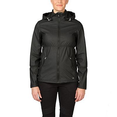 Spyder ARC Novelty Womens Soft Shell Jacket (Previous Season), Image Gray Stripe Fabric, viewer