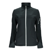Spyder Fresh Air Womens Soft Shell Jacket, Black-White, medium