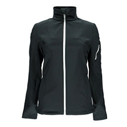Spyder Fresh Air Womens Soft Shell Jacket (Previous Season), Black-White, 256