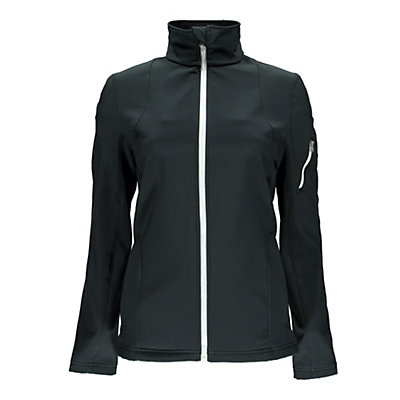 Spyder Fresh Air Womens Soft Shell Jacket (Previous Season), Black-White, viewer