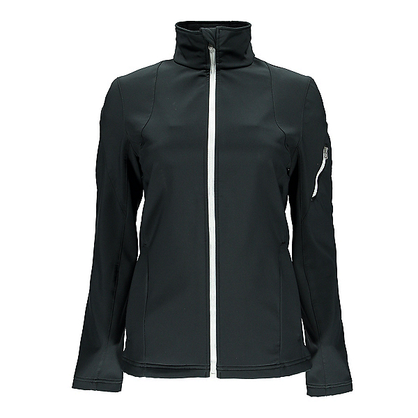 Spyder Fresh Air Womens Soft Shell Jacket (Previous Season), Black-White, 600