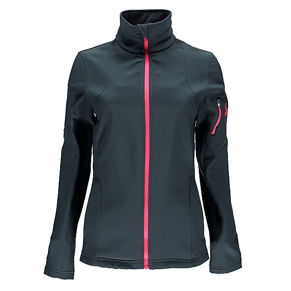 Spyder Fresh Air Womens Soft Shell Jacket (Previous Season), Depth-Bryte Pink, 600