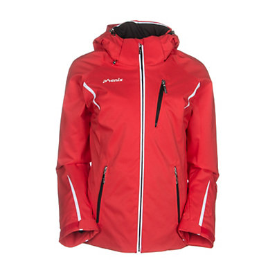 Phenix Orcha Womens Insulated Ski Jacket, Red, viewer