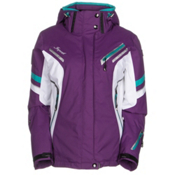 Icepeak Tiffany Womens Insulated Ski Jacket, Purple, medium