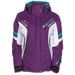 Icepeak Tiffany Womens Insulated Ski Jacket, Purple, 256