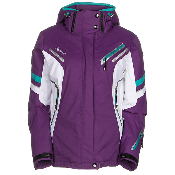 Icepeak Tiffany Womens Insulated Ski Jacket, Purple, 600