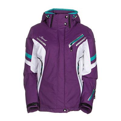 Icepeak Tiffany Womens Insulated Ski Jacket, Purple, viewer