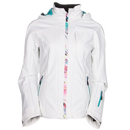 McKinley Perform Womens Soft Shell Jacket, White, 256