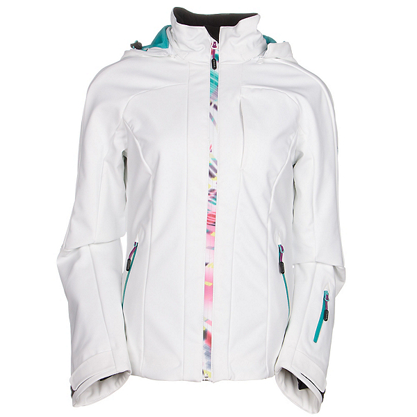 McKinley Perform Womens Soft Shell Jacket, White, 600