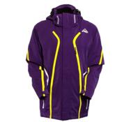 McKinley Perform Womens Insulated Ski Jacket, Purple-White, medium