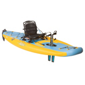 Hobie Mirage i11S Inflatable Kayak 2016, Mango-Slate, medium