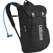 CamelBak Arete 18 Hydration Pack 2016, Black-Silver, medium