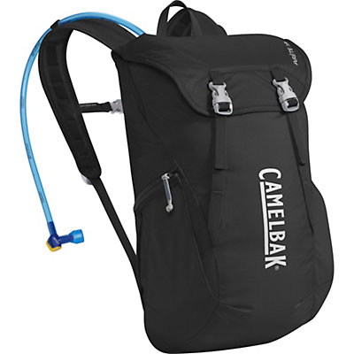 CamelBak Arete 18 Hydration Pack, Black-Silver, viewer