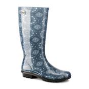 UGG Shaye Bandana Rain Boots, Stonewash, medium