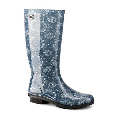 UGG Shaye Bandana Rain Boots, Stonewash, viewer