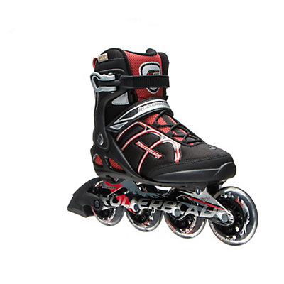 Rollerblade Macroblade 84 ALU Inline Skates 2017, Black-Red, viewer