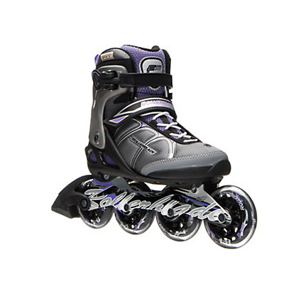 Rollerblade Macroblade 84 ALU Womens Inline Skates 2017, Black-Purple, viewer