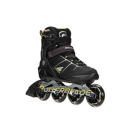 Rollerblade Macroblade 80 ALU Inline Skates 2017, Black-Yellow, viewer