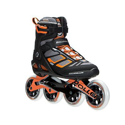 Rollerblade Macroblade 100 Inline Skates 2017, Black-Orange, viewer