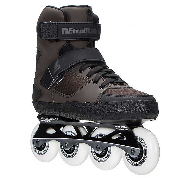 Rollerblade Metroblade GM Urban Inline Skates 2017, Brown, 600