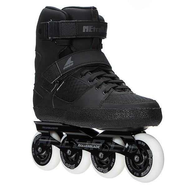 Rollerblade Metroblade C Urban Inline Skates, Black, 600