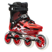 Rollerblade Maxxum 100 Urban Inline Skates 2017, Red-Black, medium