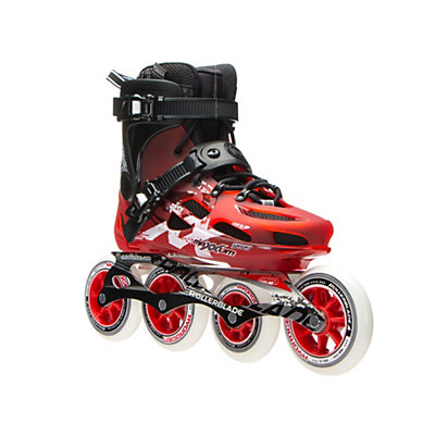 Rollerblade Maxxum 100 Urban Inline Skates 2017, Red-Black, viewer