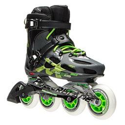 Rollerblade Maxxum 90 Urban Inline Skates 2017, Anthracite-Green, 256